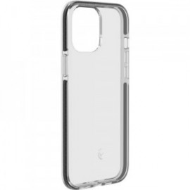 Coque pour iPhone 12 mini semi-rigide Force Case New Life noire transparente