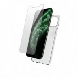 Pack Coque souple + Verre Trempé pour iPhone 11 Pro