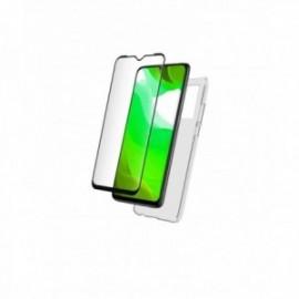 Pack Coque souple + Verre Trempé pour Xiaomi MI 10 Lite 5G