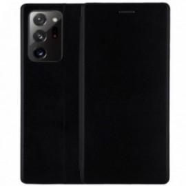 Etui pour Samsung Note 20 Folio stand magnétique noir