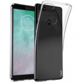 Coque silicone transparente pour Motorola E6 Play