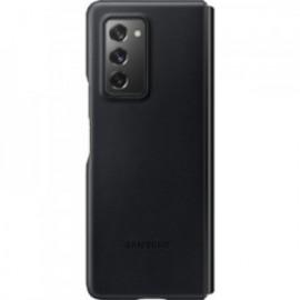 Coque Cuir Noire pour Samsung Z Fold 2