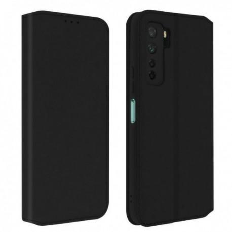 Housse pour Huawei P40 Lite 5G stand folio noire