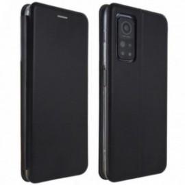 Etui Folio pour Xiaomi MI 10T 5G/MI 10T PRO 5G stand magnétique noir