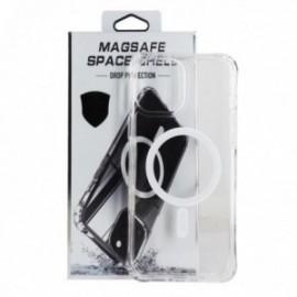 Coque pour iPhone 12 mini 5,4'' anti choc transparente compatible magsafe