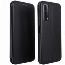 Etui Folio pour Huawei Psmart 2021 stand magnétique noir