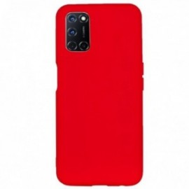 Coque pour Oppo Reno 4 PRO softy rouge