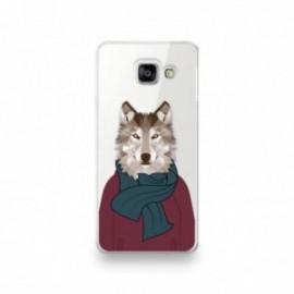 Coque pour Xiaomi MI 10T Pro motif Loup humanisé