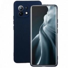 Coque pour Xiaomi MI 11 softy touch bleu