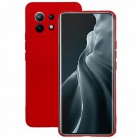 Coque pour Xiaomi MI 11 softy touch rouge