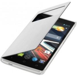 Etui Acer Liquid Z5 folio blanc origine