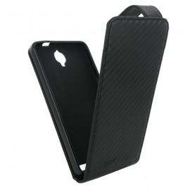 Etui Alcatel OT6040X carbone noir