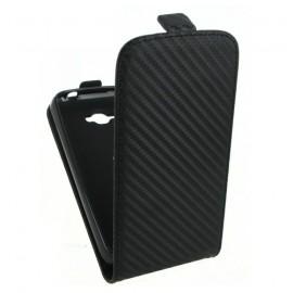 Etui Alcatel OT 5035 X Pop carbone noir