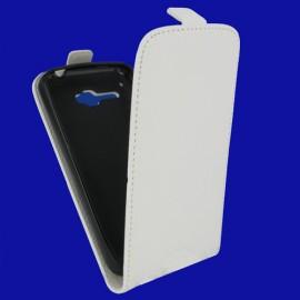 Etui Alcatel OT 5035 X Pop carbone blanc