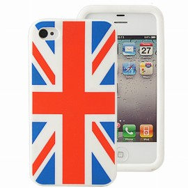 Housse minigel Uk iPhone 4/4S