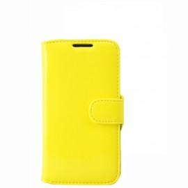 Etui Logicom E500 folio fluo jaune