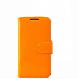Etui Logicom E500 folio fluo orange